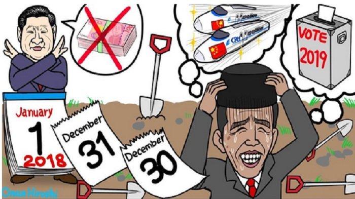 Komikus Jepang Olok-olok Proyek Kereta Cepat Jokowi, Ternyata Sakit Hati yang Jadi Pemicunya