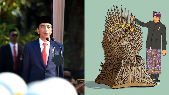Jokowi: Tak Penting Siapa yang Duduki Iron Throne, yang Penting Kekuatan Bersama Hadapi Evil Winter