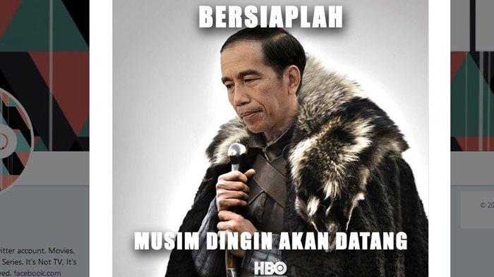 Pidato Jokowi Jadi Sorotan, Berikut Garis Besar Cerita Serial Drama Fantasi 'Game of Thrones'