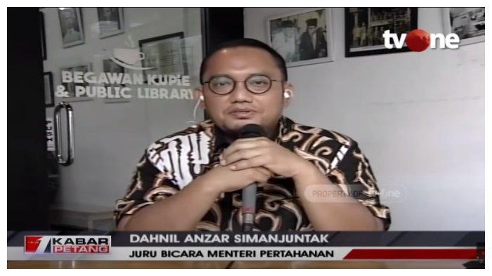 Juru bicara Menteri Pertahanan, Dahnil Anzar Simanjuntak memberikan tanggapan terkait tudingan-tudingan miring yang ditujukan kepada atasannya Prabowo Subianto terkait kunjungannya ke Amerika Serikat.