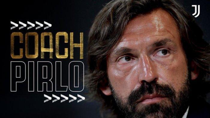 Juventus umumkan Andrea Pirlo resmi jadi pelatih, pada Minggu (9/8/2020).