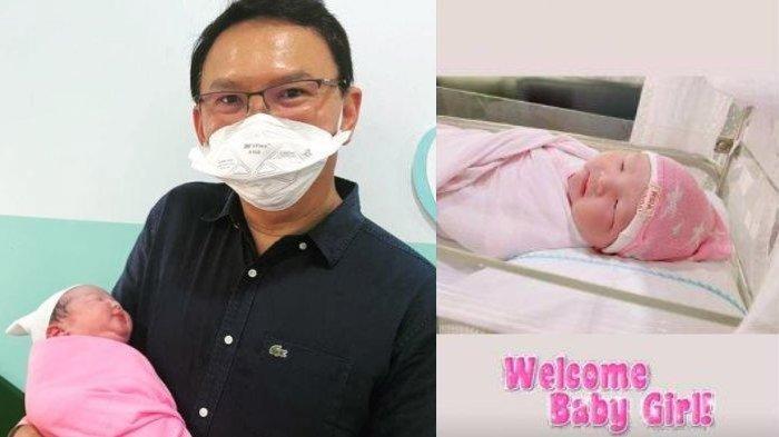 Kabar Bahagia Ahok dan Puput Nastiti Dikaruniai Anak Kedua, Intip Foto Lucunya si Bayi Perempuan