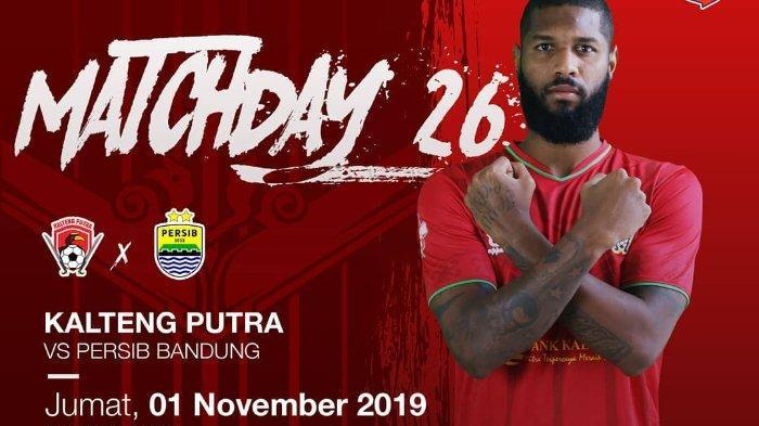 SEDANG BERLANGSUNG Live Streaming Kalteng Putra Vs Persib Bandung di Indosiar, Akses di Sini