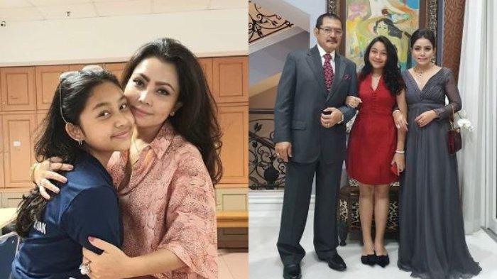 Kolase Unggahan Instagram Mayangsari. Keluarga Mayangsari dan Bambang Trihatmodjo
