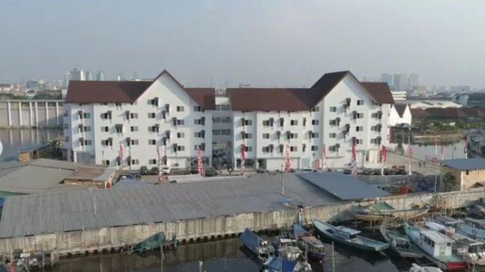 Kampung Susun Akuarium, Penjaringan Jakarta Utara.
