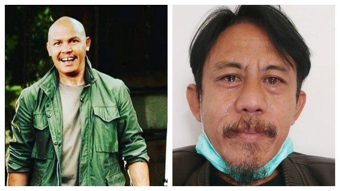 Kolase foto pemeran Preman Pensiun Ica Naga (Kang Pipit) dan Epy Kusnandar.
