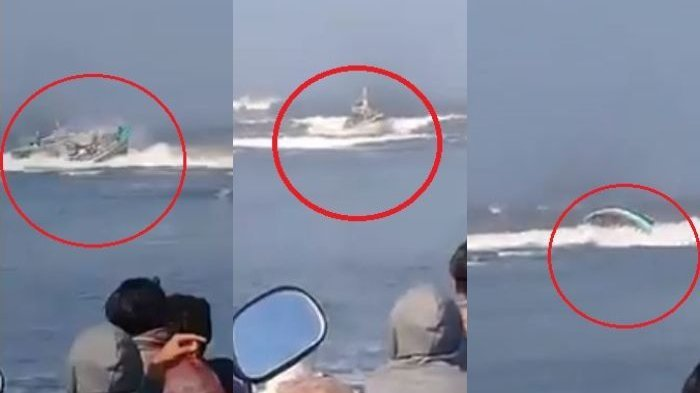Kapal Joko Berek Tenggelam di Perairan Plawangan, Jember, BNPB Mengimbau agar Nelayan Berhati-hati