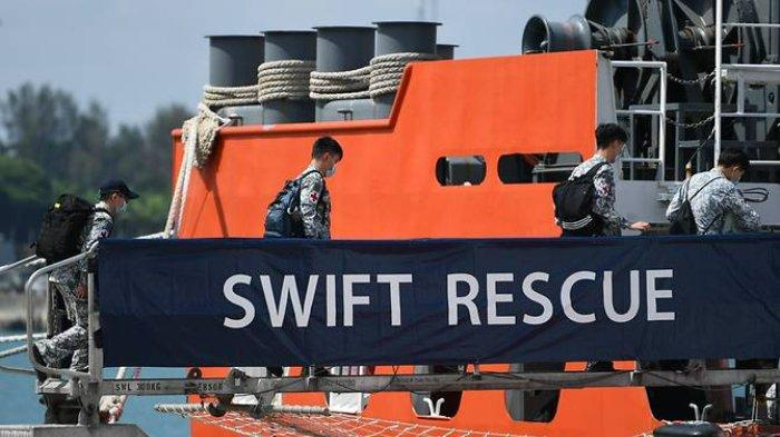 Kapal Penyelamat Singapura Tempuh 1.500 Km demi Selamatkan KRI Nanggala, Lihat Penampakannya