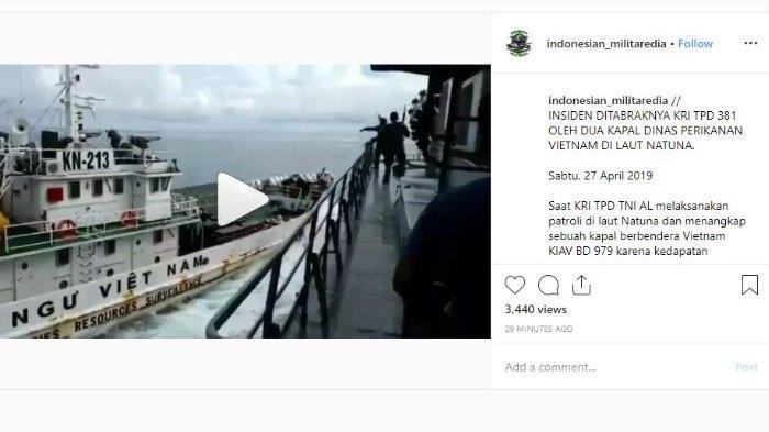 Ini Alasan Vietnam Berani Tabrak Kapal Perang Indonesia saat Menangkap Kapal Pencuri