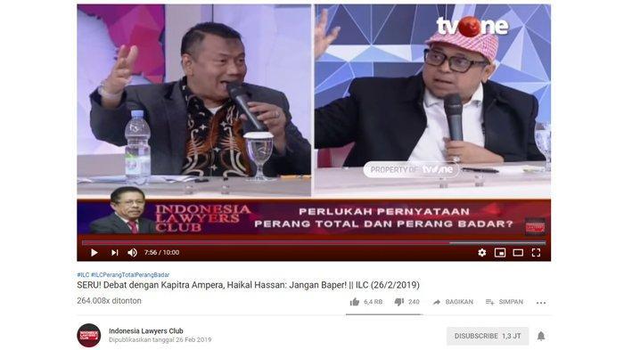Haikal Hasan Heran Ma'ruf Amin Tanggapi Puisi Neno Warisman: 02 Tak Merespon 'Perang Total' Moeldoko