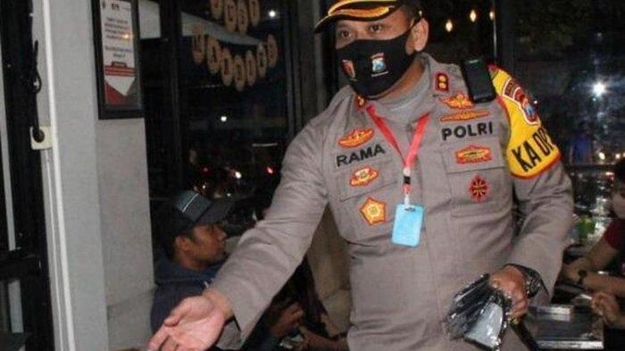 Pengunjung Kafe Enggan Pakai Masker, Kapolres Bangkalan Bentak dan Usir: Pulang Kamu!