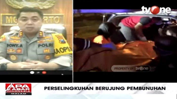 Kapolres Mojokerto AKBP Dony Alexander mengungkapkan fakta seorang pria membunuh suami baru mantan istrinya di Mojokerto, Jawa Timur, dalam Apa Kabar Indonesia Malam, Minggu (22/11/2020).