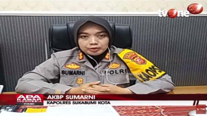 Kapolres Sukabumi Kota, AKBP Sumarni menjelaskan soal kasus bocah 11 tahun asal Sukabumi, Jawa Barat, diculik selama 44 hari dan dijadikan pemulung, Rabu (26/5/2021).