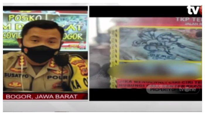 Polisi Tunjukkan Foto Ciri-ciri Mayat Wanita Dalam Bagasi di Bogor, Ada Tato Tinkerbell di Punggung