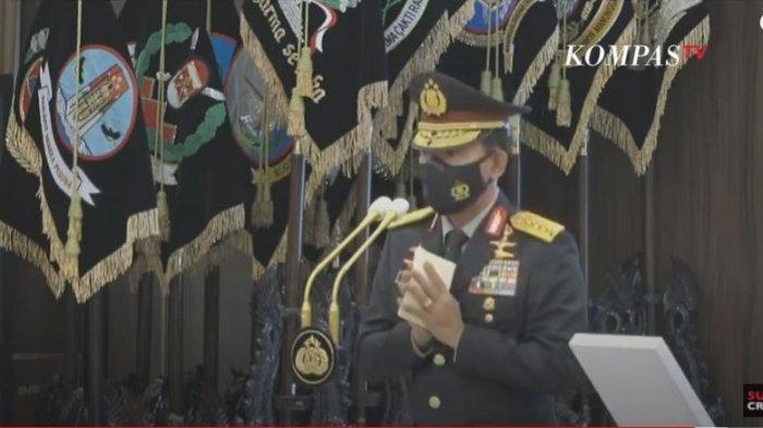 Pesan Idham Azis ke Kapolri Listyo Sigit saat Sertijab: Saya Yakin dan Berdoa di Tangan Dingin Bapak