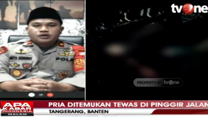 Terungkap Misteri Jasad Pria Tewas Mengenaskan di Tepi Jalan Tangerang, Sempat Diduga Korban Begal