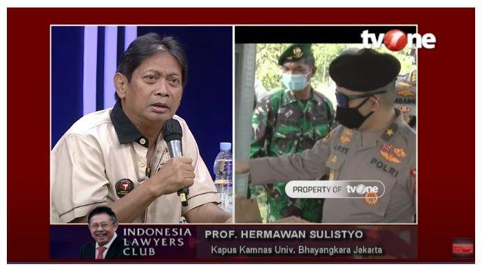 Soal Kecemburuan Kesejahteraan TNI dan Polri, Herman Sulistyo Buka-bukaan Gaji Jadi Profesor di ILC