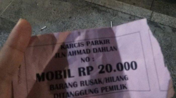 Viral Parkir Dekat Malioboro Rp 20 Ribu, Tulisan Barang Rusak/Hilang Ditanggung Pemilik Jadi Sorotan
