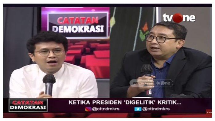 Debat dengan Fadli Zon soal Julukan BEM UI untuk Jokowi, Faldo Maldini: Yang Gak Lip Service Siapa?