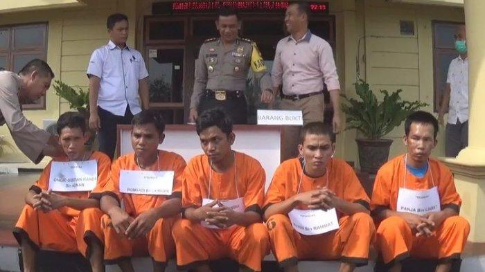 Kronologi Pembunuhan Sukirman di Kebun Karet Prambumulih, Pelaku Tuduh Korban Curi Motornya