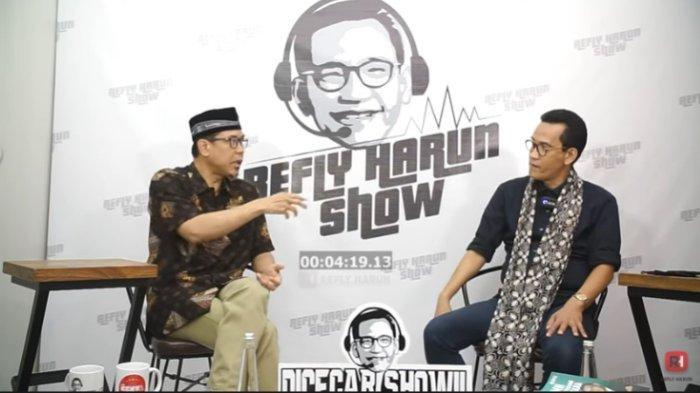 Kepada Refly Harun, Sekum FPI Munarman Ungkap Dugaan Upaya Membungkam Habib Rizieq Shihab