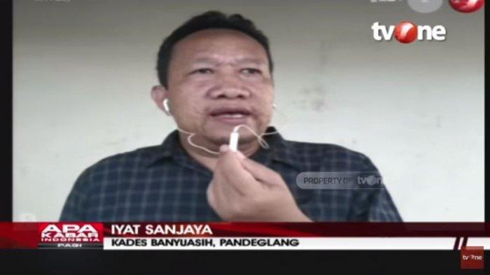 Kepala Desa Banyuasih, Iyat Sanjaya blak-blakkan mengungkap seluk beluk aliran Hakekok pimpinan Arya (52) yang membuat heboh warga Pandeglang, Banten. Ditayangkan di acara Apa Kabar Indonesia Pagi tvOne, Sabtu (13/3/2021).