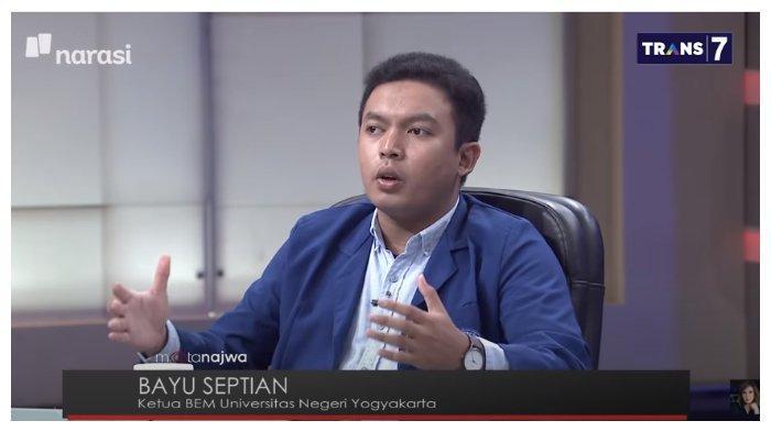 Di Mata Najwa, BEM UNY Tak Terima Aksi Demo Tolak UU Cipta Kerja Disebut Ditunggangi: Kita Patungan