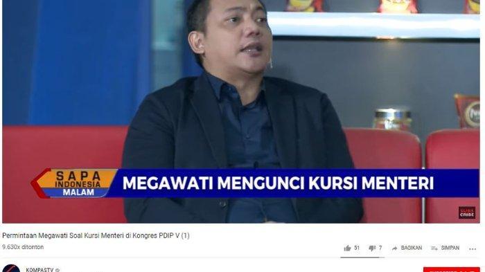 Megawati Mau Kursi Menteri Terbanyak, Ketua DPP NasDem: Minta Jatah Itu Tak Ada dalam Kamus NasDem