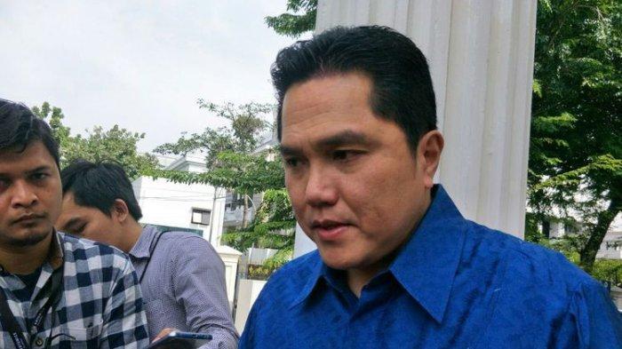 Jokowi Disebut Panik karena Elektabilitas Makin Mepet, Begini Tanggapan Ketua TKN Erick Thohir