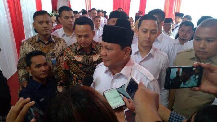 Saat Prabowo Tak Lagi Bicara Politik meski Jabat Ketum Gerindra, Tercatat sejak Jadi Menteri Jokowi