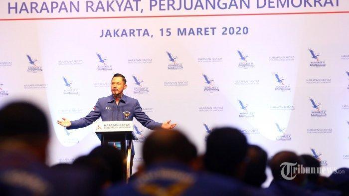AHY Terpilih Jadi Ketum Partai Demokrat secara Aklamasi, SBY Sampaikan Pidato Politik Terakhir