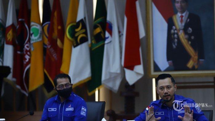 Ketua Umum Partai Demokrat, Agus Harimurti Yudhoyono (AHY).
