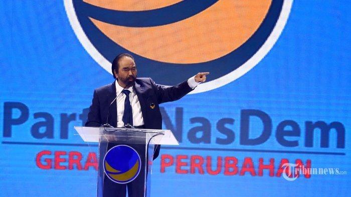 Singgung soal 'Kecurigaan' hingga 'Berkunjung ke Kawan' dalam Pidatonya, Surya Paloh Sindir Jokowi?