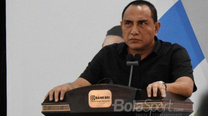 Akmal Marhali Sebut Edy Rahmayadi Sempat Ingin Mundur dari PSSI sebelum Maju Jadi Gubernur Sumut