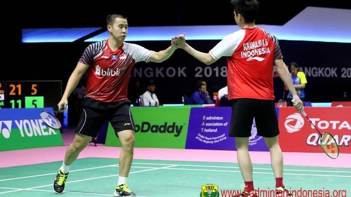 Markus-Kevin Lolos, Laga Perang Saudara Pebulutangkis Indonesia akan Tersaji di Japan Open 2018