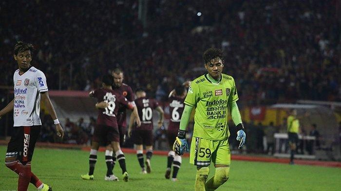 Kiper Bali United Wawan Hendrawan alias Spider Wan