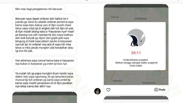 Kisah Getir Driver Ojek Online Kena Suspend Karena Order Fiktif Penumpang Iseng Berulang Kali Halaman All Tribun Wow