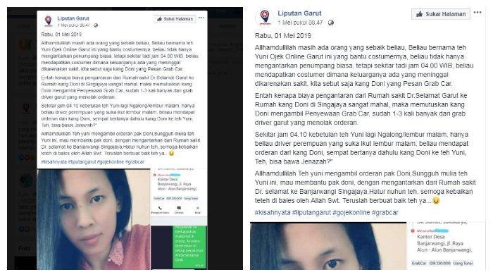 Kisah Yuni, pengemudi taksi online yang dapat orderan mengantarkan jenazah dini hari