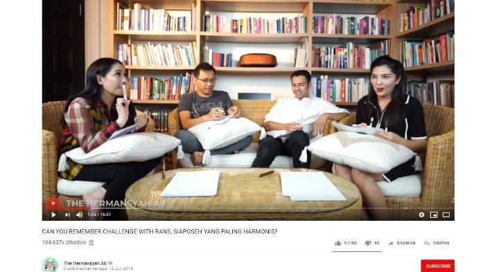 Kolaborasi Anang Hermansyah dan Ashanty bersama Raffi Ahmad dan Nagita Slavina.