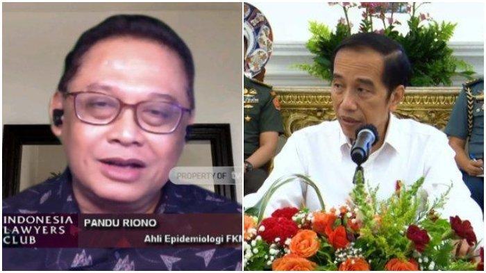 Minta Jokowi Ganti Nama Kabinetnya Jadi Kabinet Covid, Pandu Riono: Sampai Selesai Masih Ada Masalah
