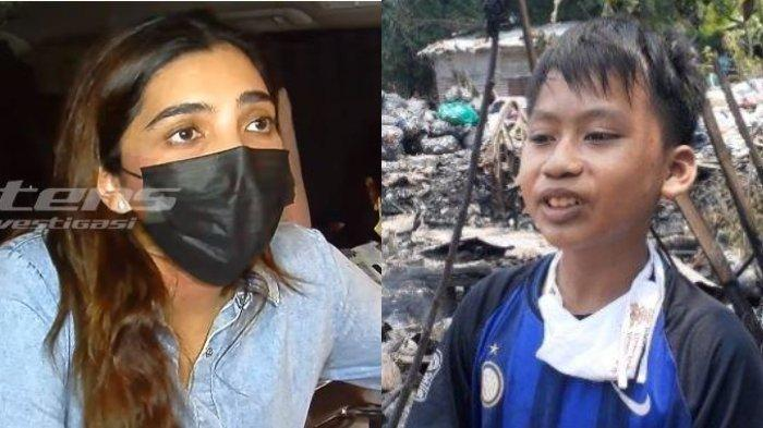 Kolase Ashanty (kiri) dan mantan anak asuhnya, Muhammad Putra, Kamis (26/8/2021).