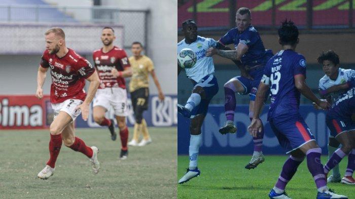 Jadwal Liga 1 2021 Pekan ke-3: Bali United Vs Persib Bandung, Persipura Vs Persija Jakarta