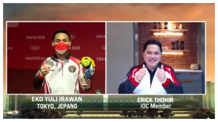 Eko Yuli Irawan Raih Medali Kedua Indonesia di Olimpiade Tokyo 2020, Minta Maaf ke Erick Thohir