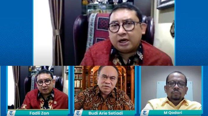 Respons Fadli Zon soal Wacana Duet Jokowi dan Prabowo: Sesuatu Hal yang Tidak Produktif