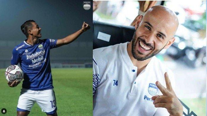 2 Gelandang Persib Bandung Febri Hariyadi dan Rashid Saling Ledek di Instagram: Kamu Melihat Saya?