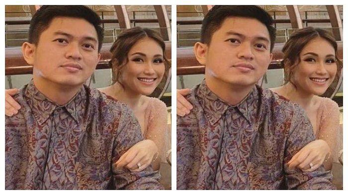 Kolase Foto Ayu Ting Ting saat masih bersama Adit Jayusman