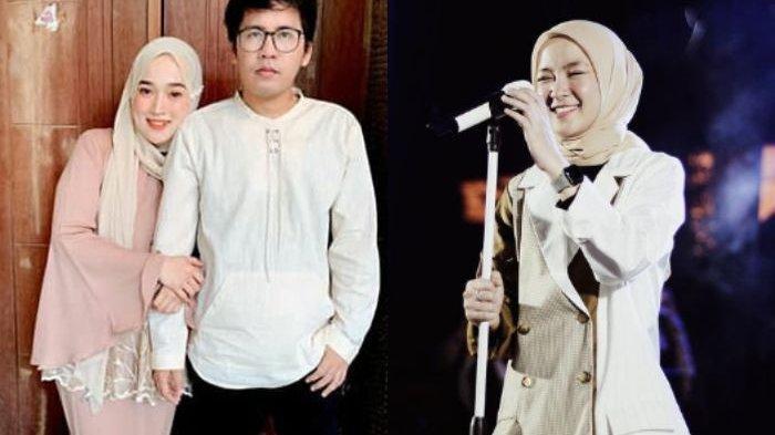 Kolase Foto Ayus dan Riri Fairus (kiri) - Nissa Sabyan (kanan)