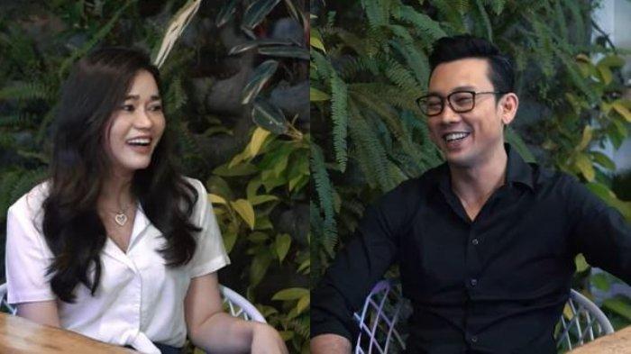 Kolase potret Olivia Allan (kiri) dan Denny Sumargo, diunggah Jumat (20/11/2020).