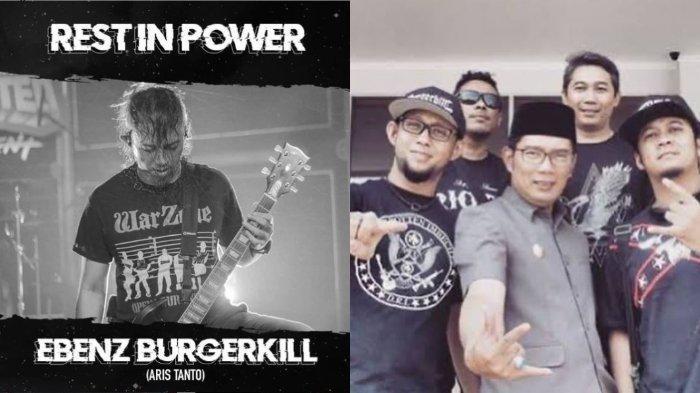 Ebenz Burgerkill Meninggal Dunia, Ridwan Kamil Berduka Unggah Kebersamaan: Kebanggaan Jawa Barat