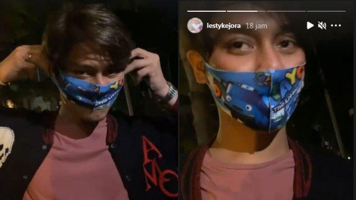 Cemberut Dipaksa Lesti Kejora Pakai Masker Anak 3 Tahun, Rizky Billar: Serba Salah, Nurut Ajalah